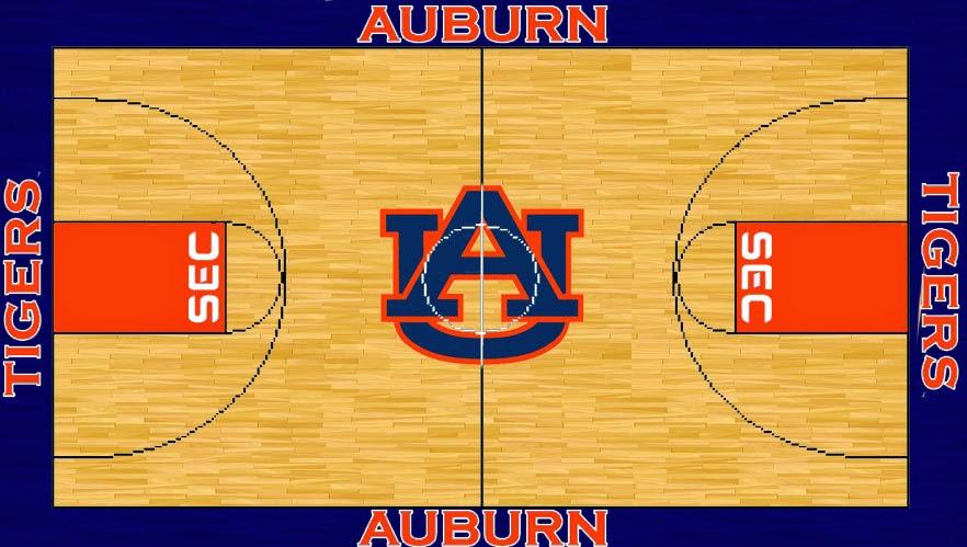 Auburn uniform database basketball court designs for Design basketball court