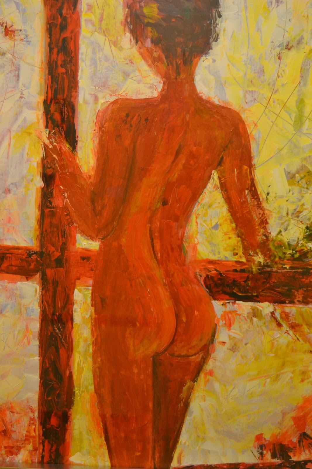Quehacerenlasierra exposici n de pintura de sebasti n - Busco trabajo de pintor en madrid ...