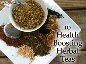 10 Health Boosting Herbal Teas