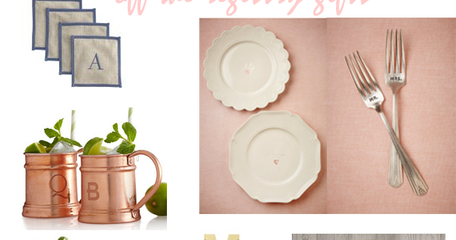 Wedding Gift Off Registry : Wedding Wednesday Off the Registry Gifts ~ Lovely Life Styling