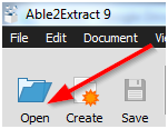 3 Steps to Editable PDFs with Able2Extract 9