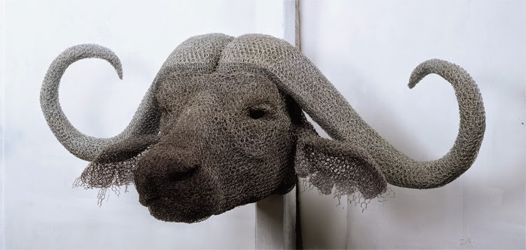 17-Water-Buffalo-Head-Kendra-Haste-Galvanised-Wire-Animal-Sculptures-www-designstack-co