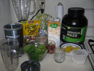 Weight Gain Journey| Tropical Green Smoothie Recipe ...