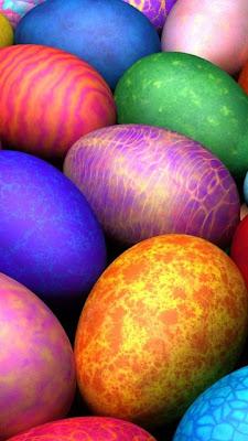 Obojana jaja za Uskrs download besplatne pozadine slike za mobitele
