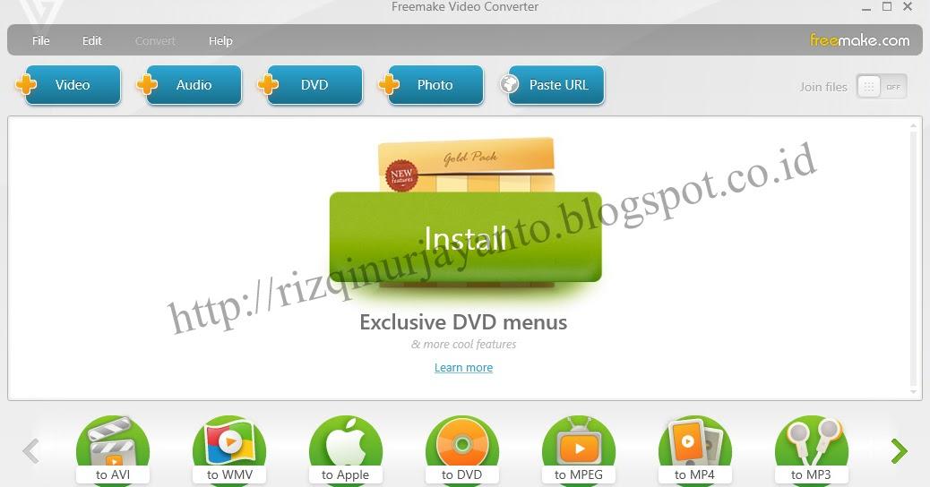 download freemake video converter gold 4 1 6 1 terbaru