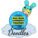 Kids Math Teacher Endless Doodles