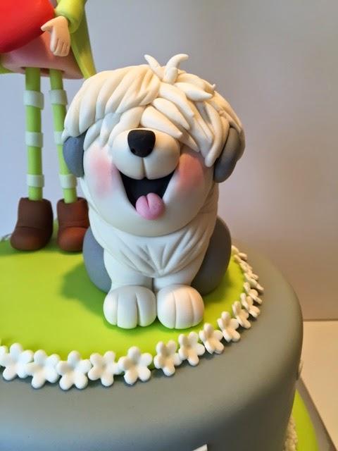 taart met hond