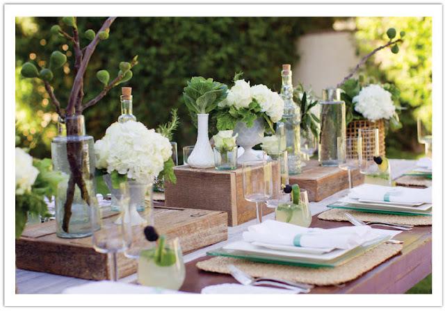 festa jardim rustica:Festa, Sabor & Decoração: Festa rústica no jardim