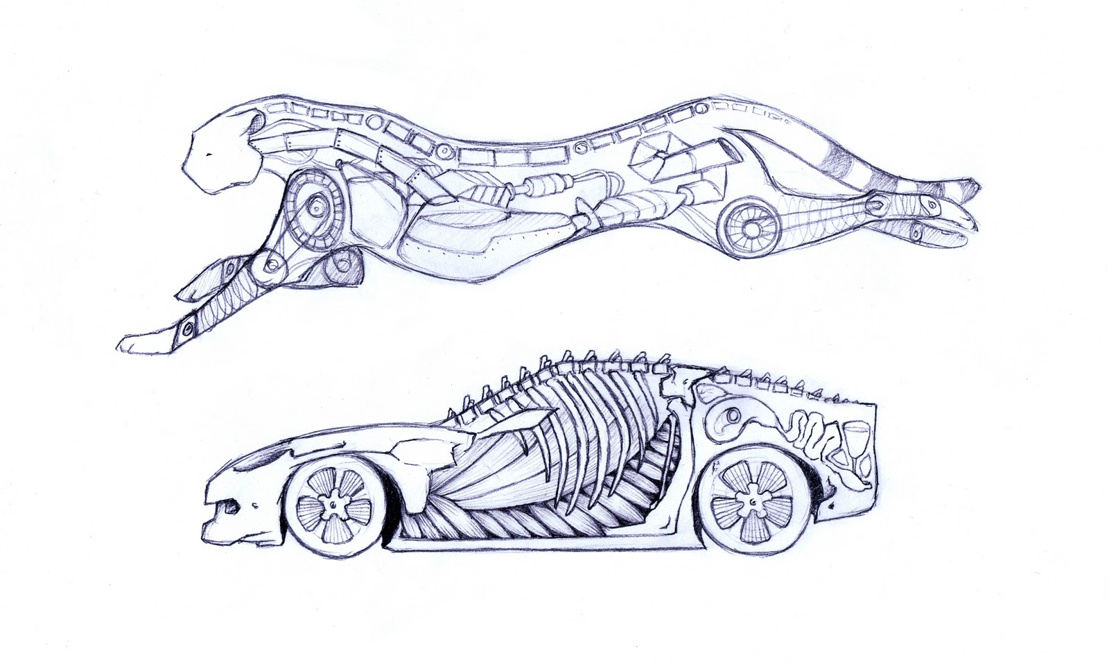 Cool Drawings Of Car Parts Pictures Inspiration - Simple Wiring ...