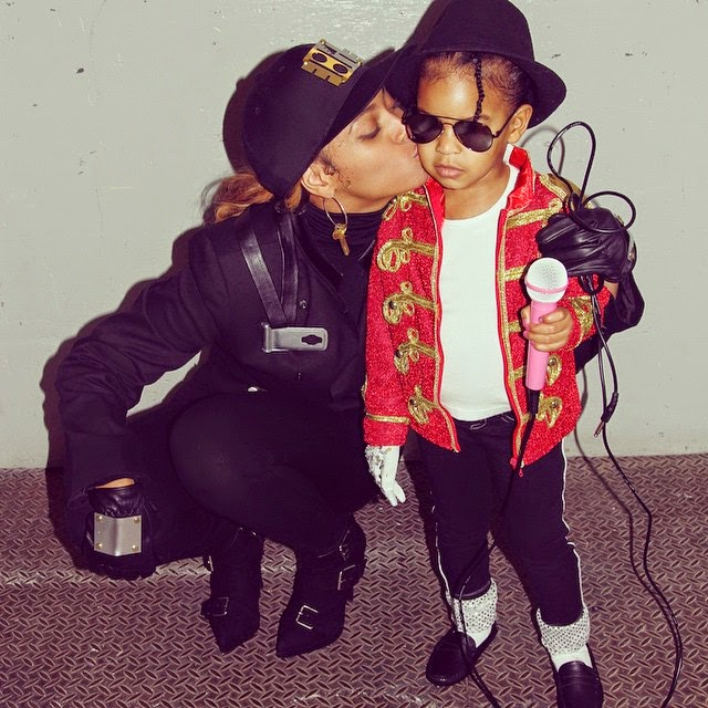 Blue Ivy Rocks Michael Jackson's Outfit For Halloween and She Nailed It! – Photos