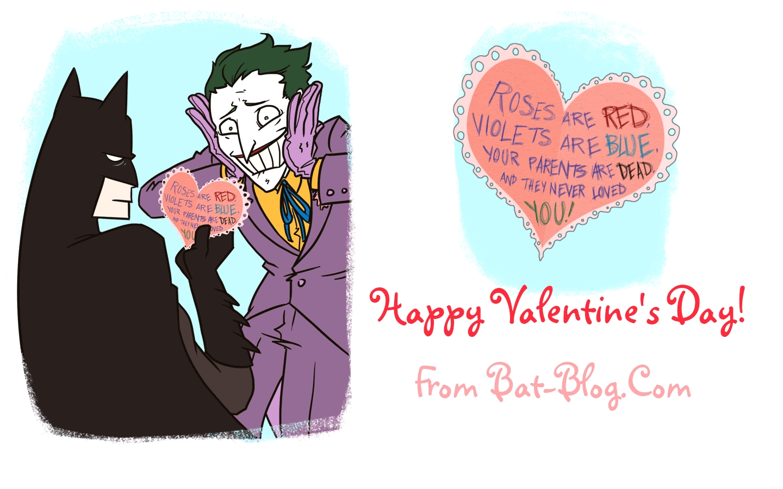 BAT BLOG BATMAN TOYS and COLLECTIBLES HEY BATMAN FANS The – Batman Valentines Day Card