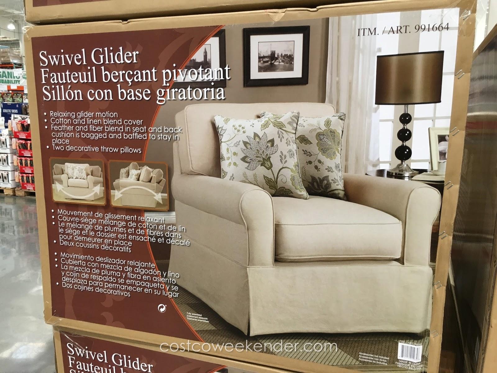 Synergy Swivel Glider Chair Costco Weekender