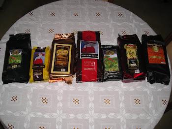 Linha de cafés