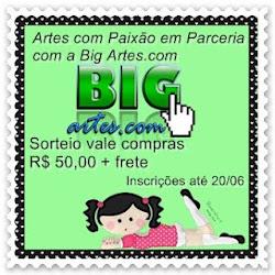 SORTEIO BLOG ARTES COM PAIXÃO