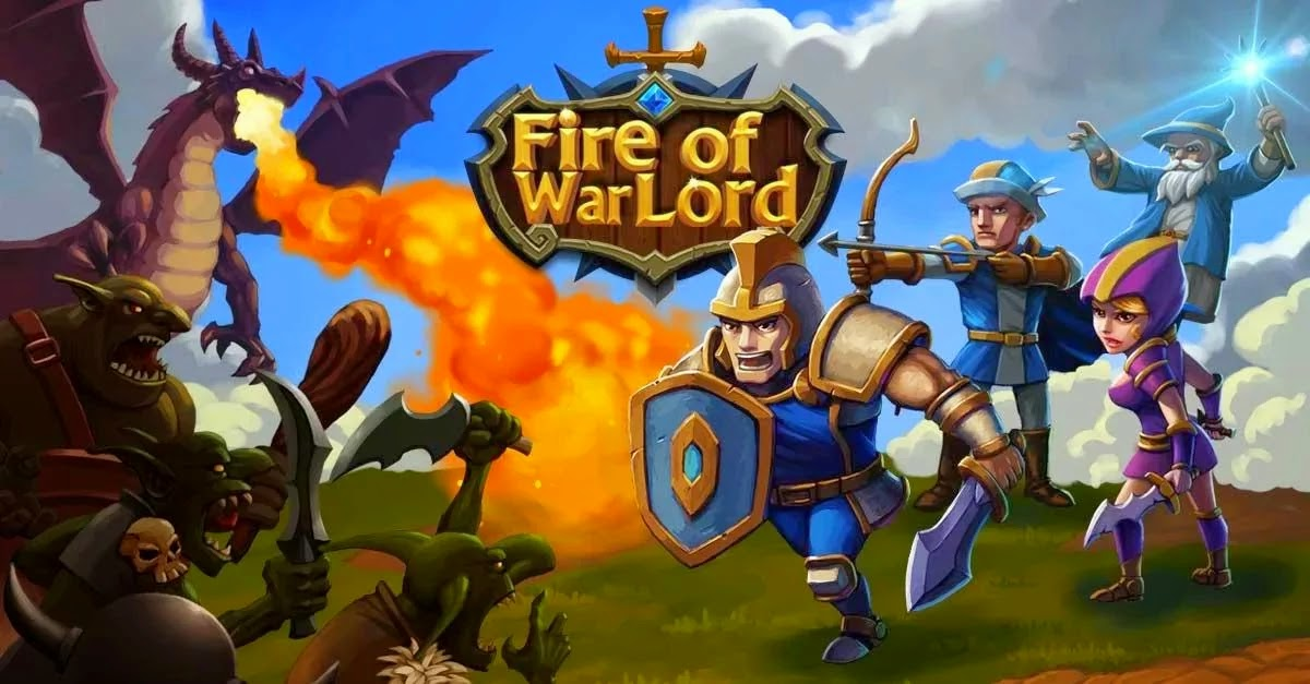 Fire of Warlord: Epic Revenge v0.5.1 Mod [Free Upgrades]