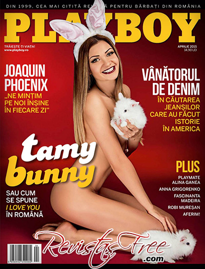 Tamy Bunny - Playboy Romania - Abril 2015