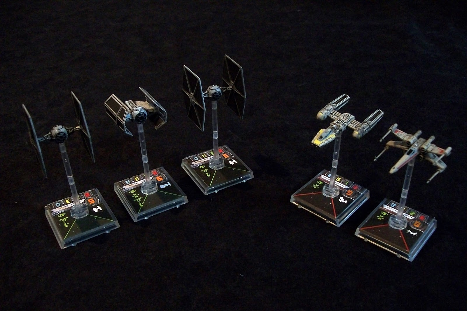 Ruin Painting and Gaming Blog  Star Wars X-Wing Miniatures Game ReviewX Wing Game
