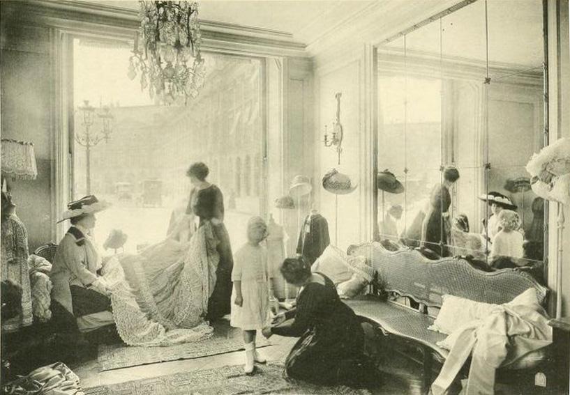 Les petites mains histoire de mode enfantine mode - La chambre syndicale de la haute couture ...