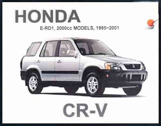 Automotive Lover First Generation Of Honda Cr V 1995 2001