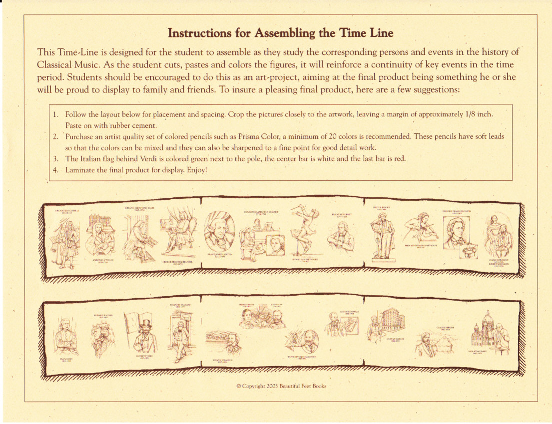 Beautiful Feet Books Blog: Product Feature: Timelines