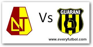 Ver Tolima Vs Guarani Online En Vivo – Copa Libertadores 2011