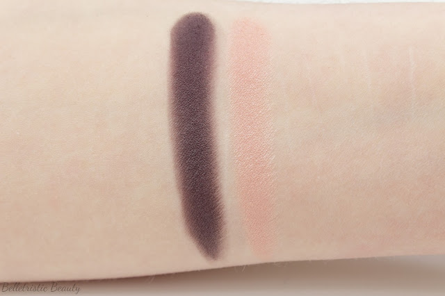 Chanel Rose Majeur 70 Ombres Contraste Duo Eyeshadow Duo swatch in studio lighting
