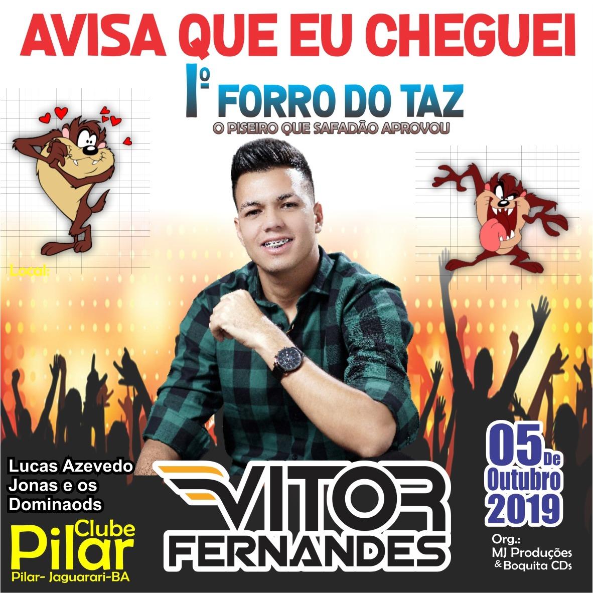 1°forro do Taz Vitor Fernandes