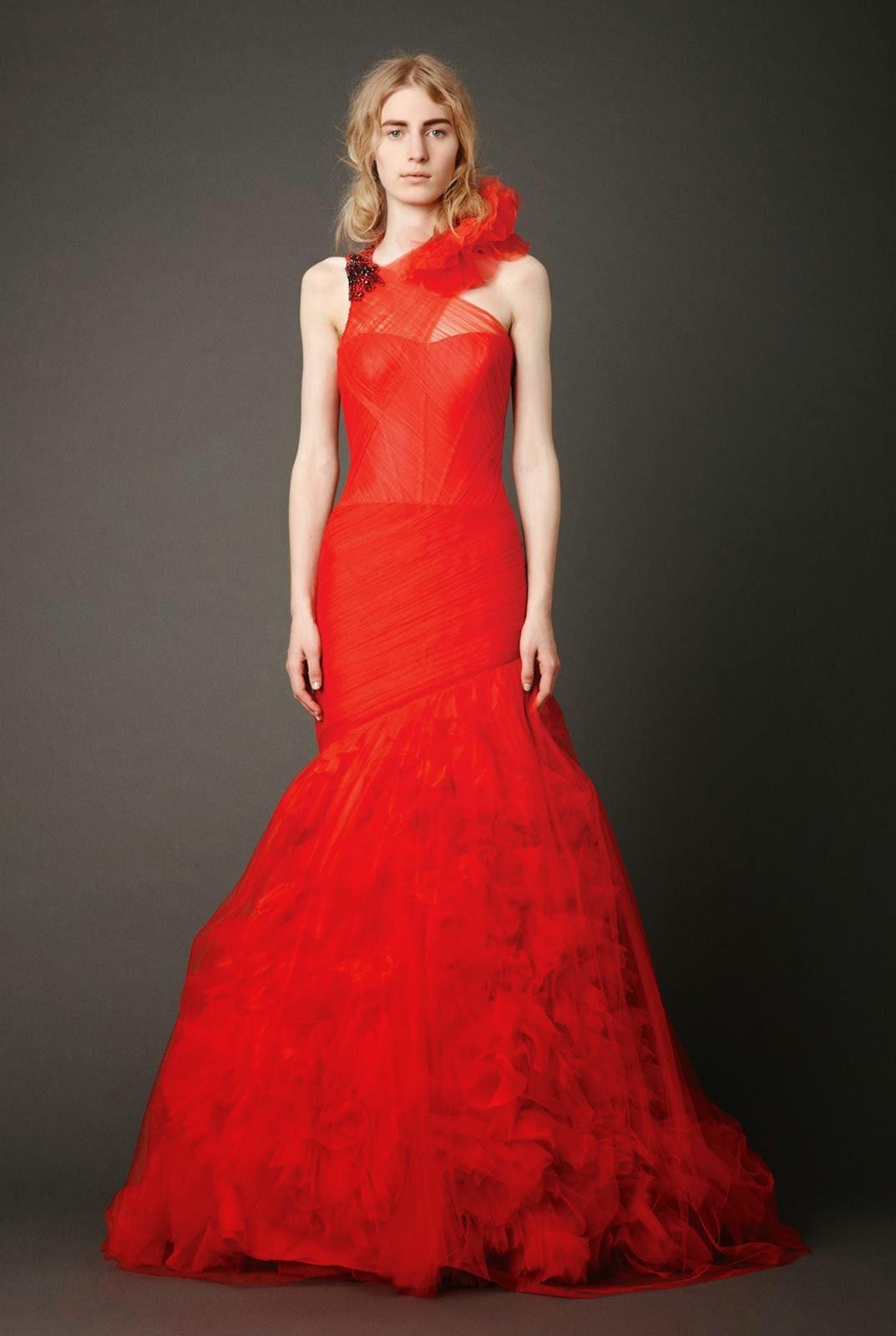 Red Wedding Dresses Summer 2013 Photos HD Design Ideas
