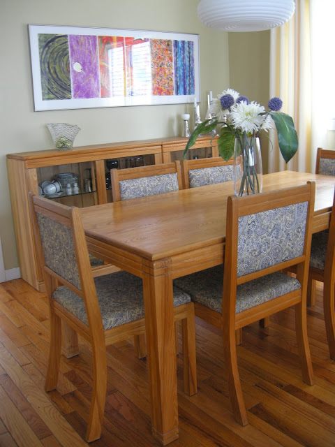 mid century modern dining room Scandinavian design