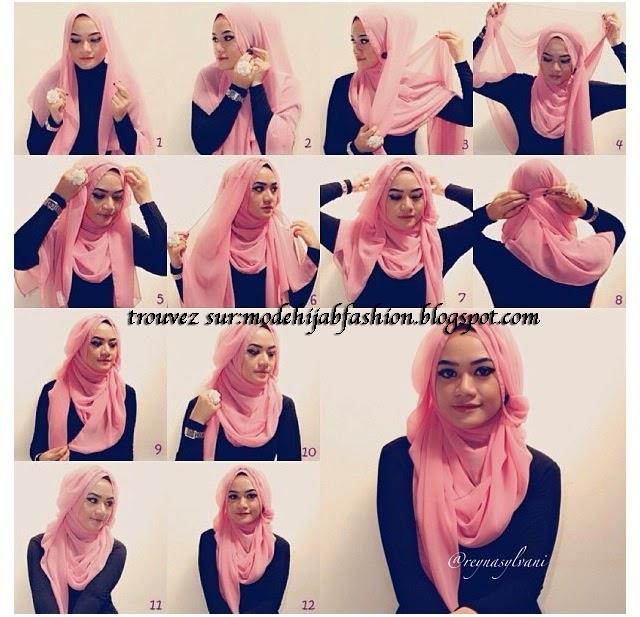 Tuto hijab image