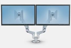 Dual Screen Computer Monitor Mount