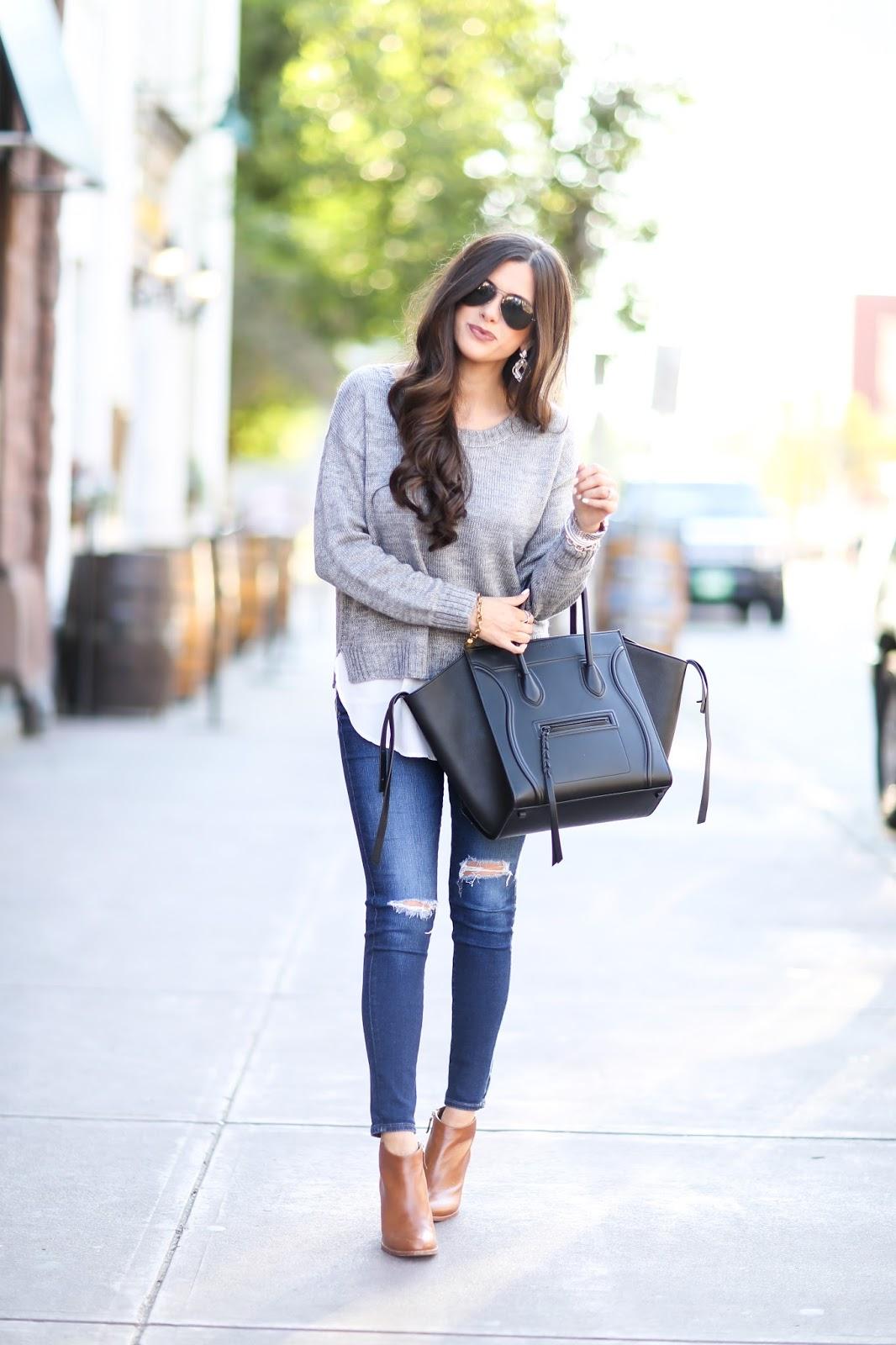 celine beige bag - The Sweetest Thing: Black & Grey