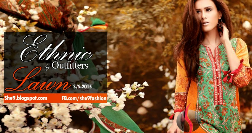 Ethnic Lawn Prints 2015 by Outfitters
