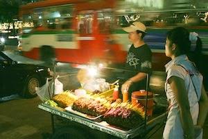 puesto callejero bangkok