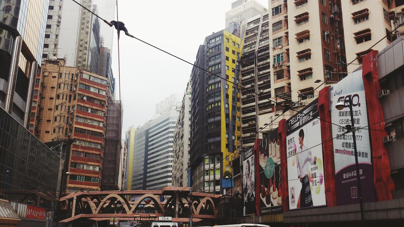 Tram Route Hong Kong