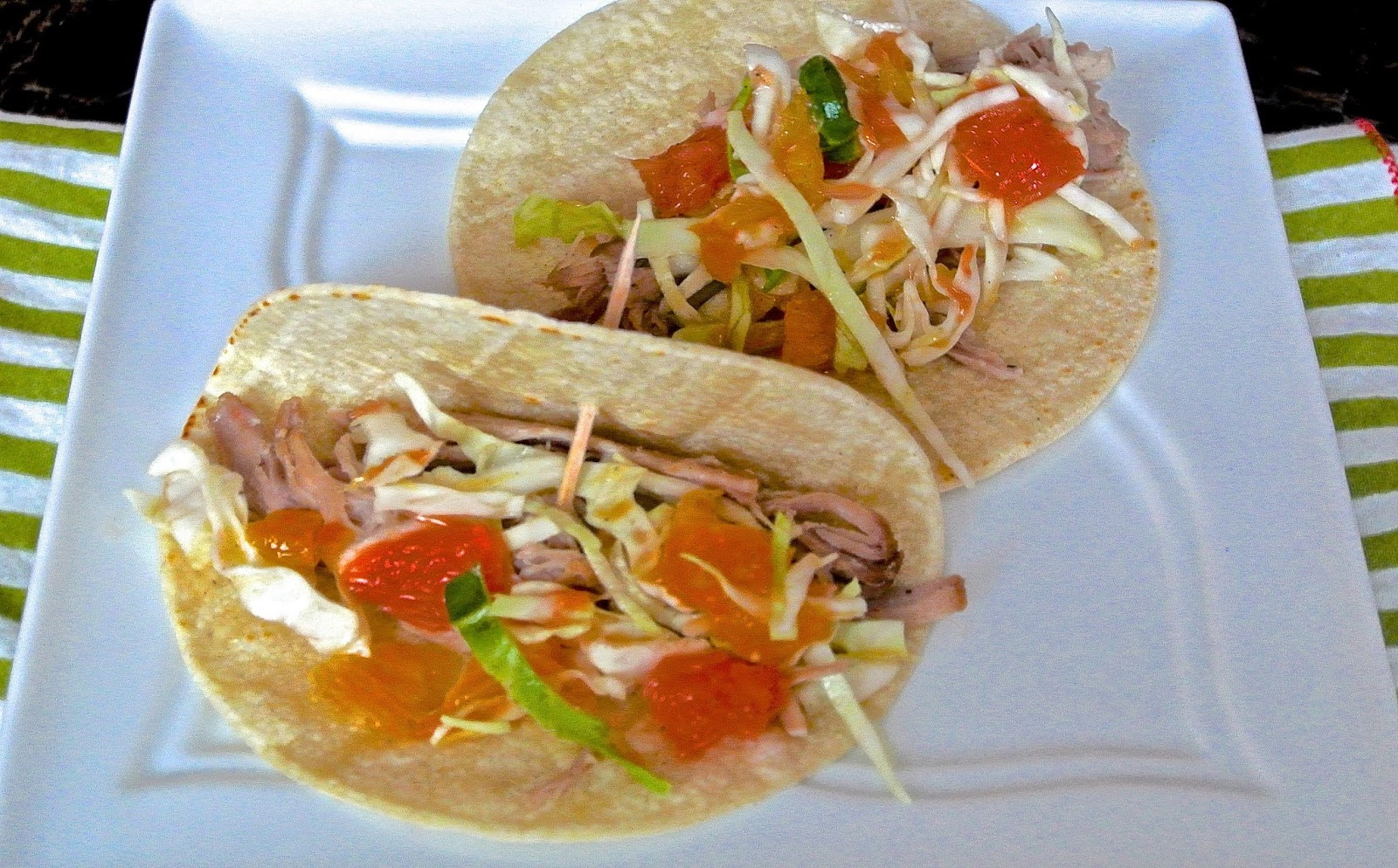 The Barbee Housewife: Pulled Pork Tacos with Citrus Slaw ...