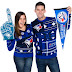 Toronto Blue Jays Ugly Christmas Sweaters at .@RetroFestive!