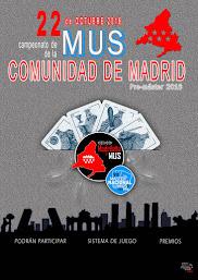 #CAMPEONATO de la Comunidad de Madrid, 22 de Octubre 2016