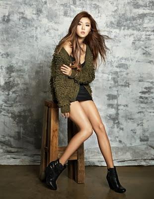 Park Han Byul - W Magazine November Issue 2013