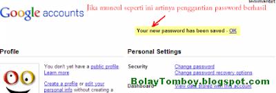 Cara Ubah Kata Sandi Email Gmail