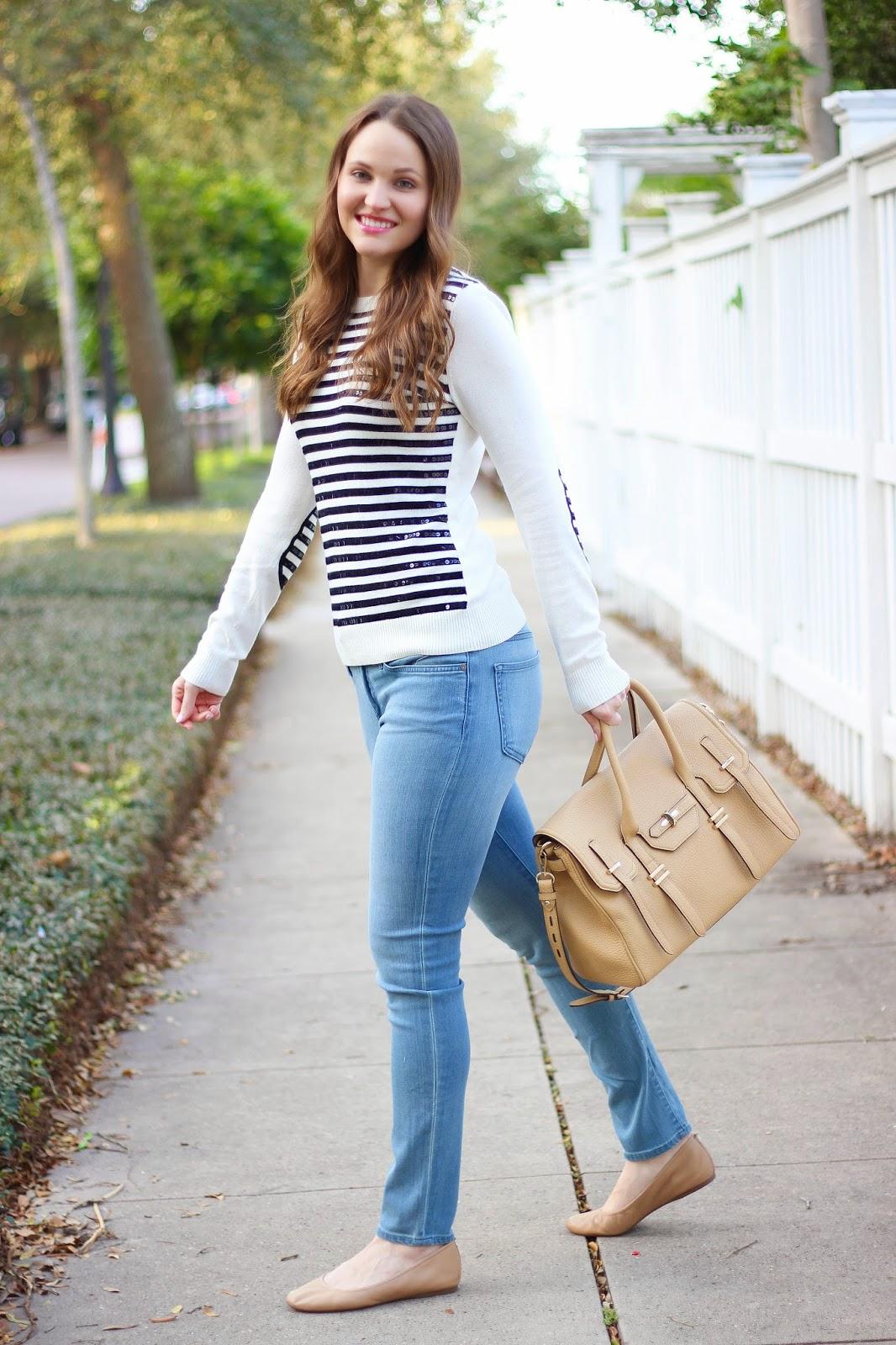 Black Woman In White Tshirt Slender Legs Stock Photo