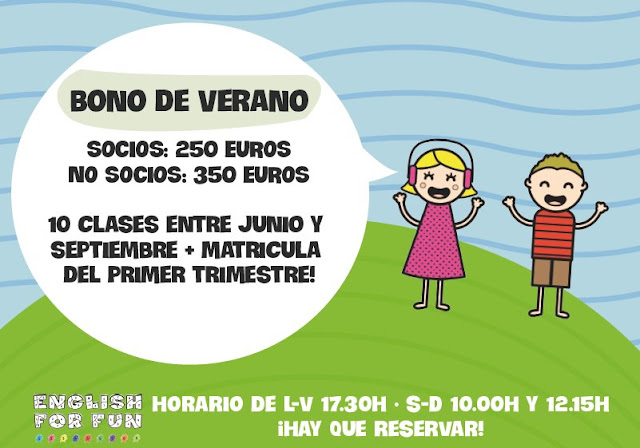 English for Fun - Madrid summer camp