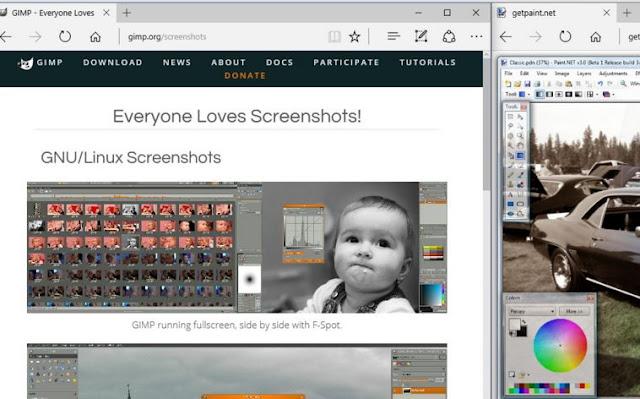 GIMP dan Paint.Net
