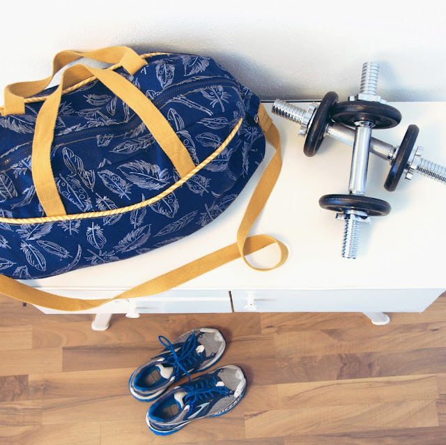 GrinseStern, Sporttasche, Kibadoo, little holiday bag, GrinseSternstoff