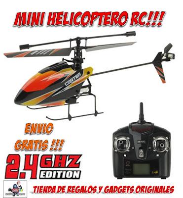 mini helicoptero radiocontrol
