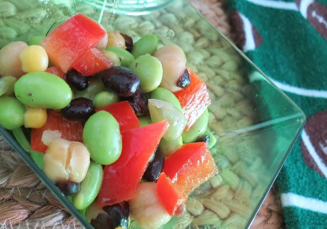 Edamame Salad Recipe - www.familyandthelakehouse.com