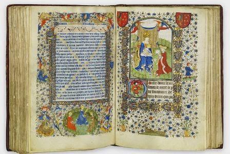 Elizabet de Bohumun saatları və psalteri