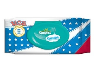 Pampers USA wipes