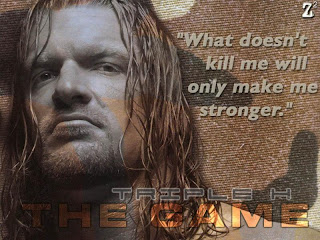 triple H Quote WWE Desktop Wallpaper