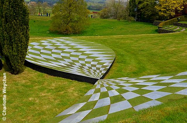 the garden of cosmic speculation open for just five hours a year. Black Bedroom Furniture Sets. Home Design Ideas